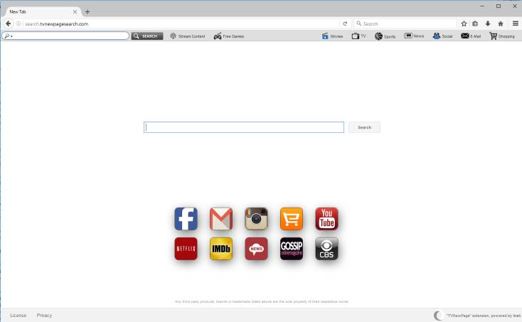 Remove Search.tvnewpagesearch.com