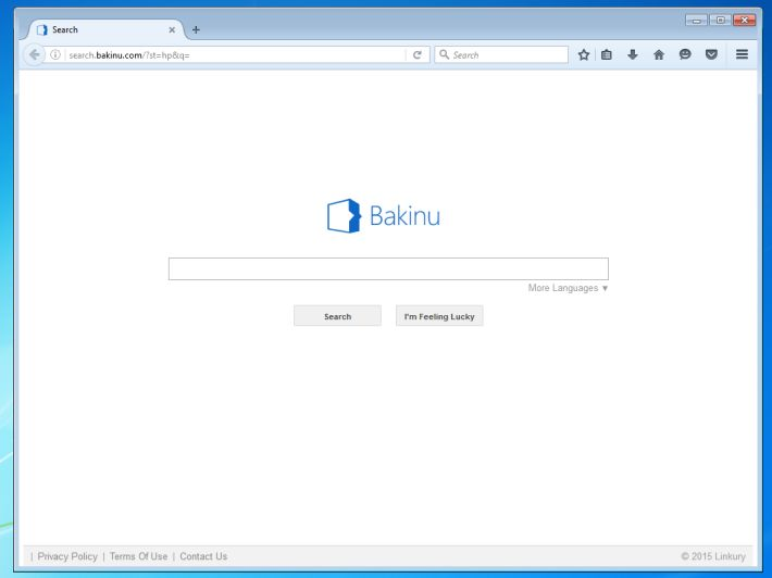 Remove Search.bakinu.com