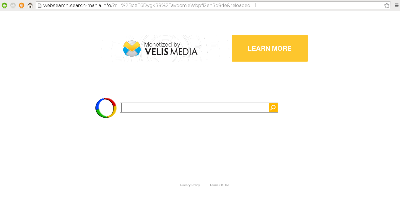Remove Websearch.search-mania.info
