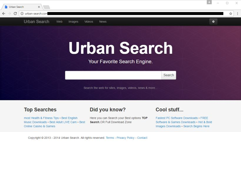 Remove urban-search.com
