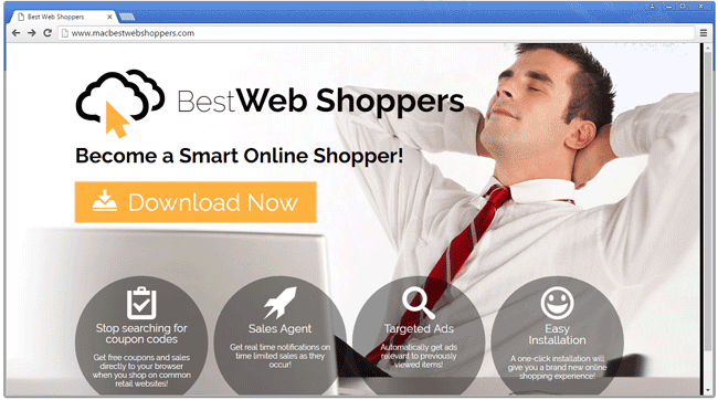 Remove BestWeb Shoppers pop-up