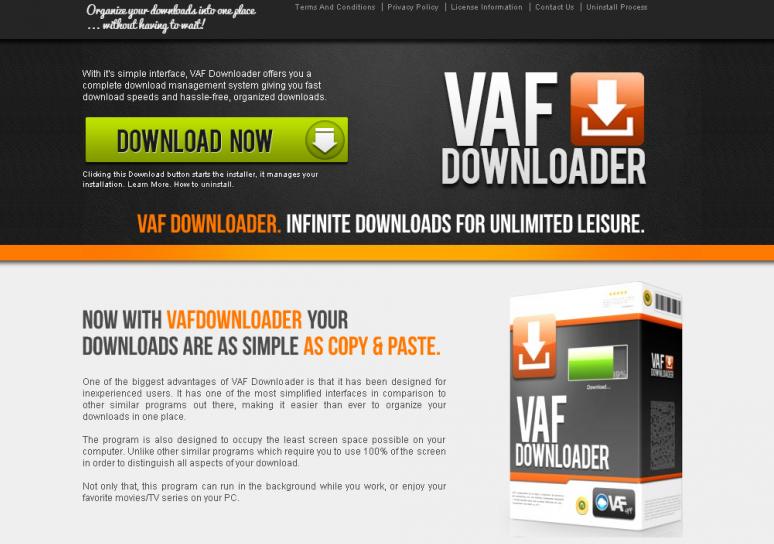 Remove VAFDownloader