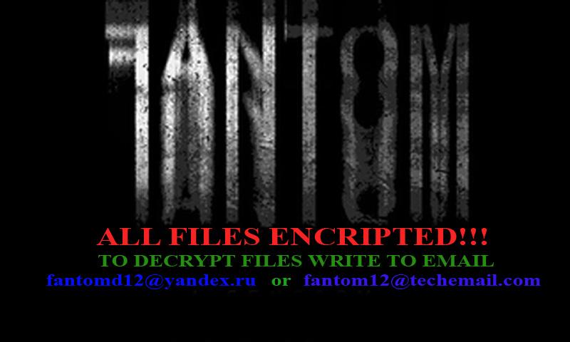 remove Fantom ransomware