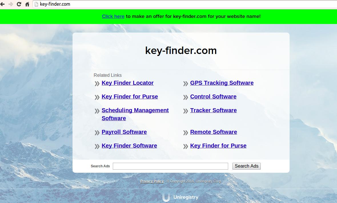 hacktool keyfinder