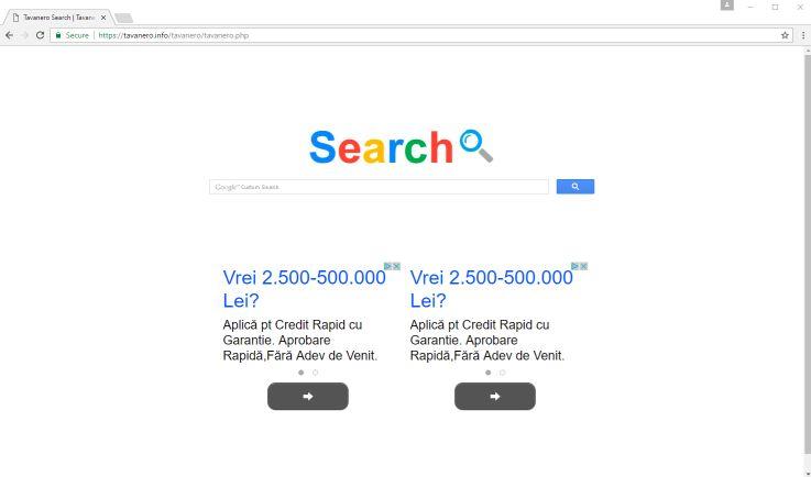 remove Tavanero Search