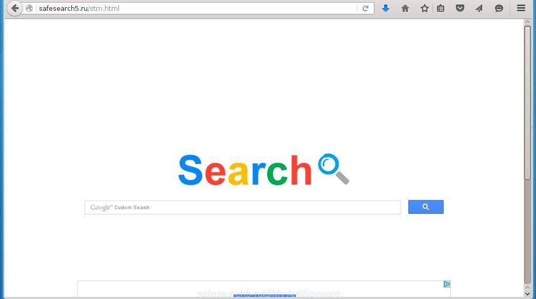 remove Safesearch5.ru