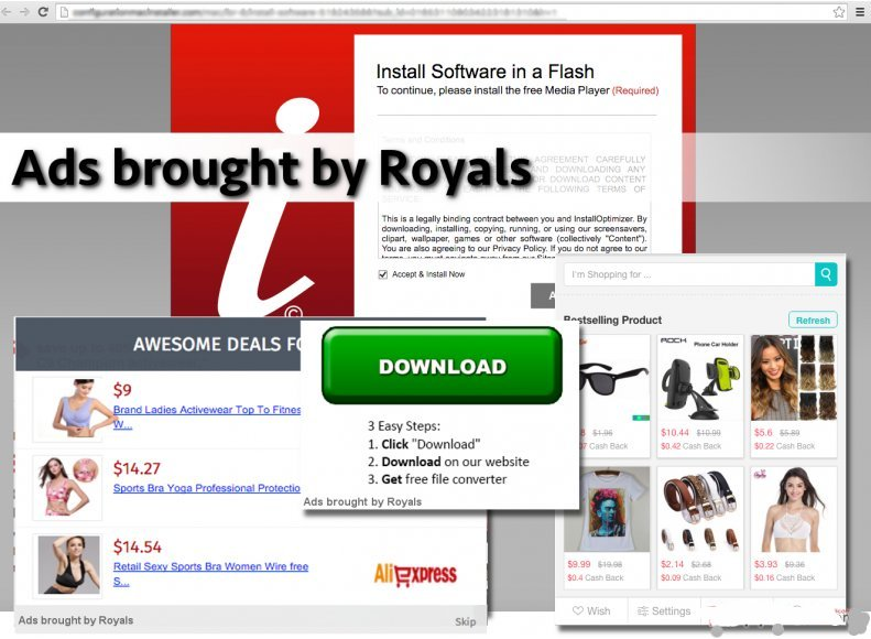 Ads brought by Royals