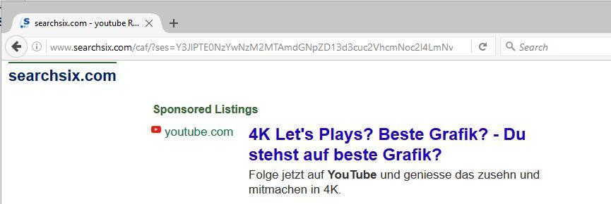 remove Searchsix.com