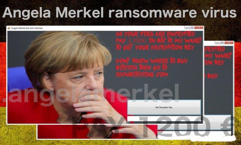 Angela Merkel Ransomware
