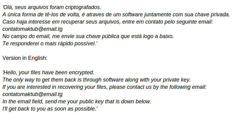 delete NMoreira Ransomware