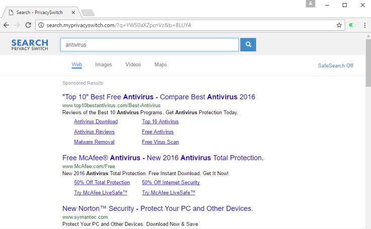 remove Search.myprivacyswitch.com