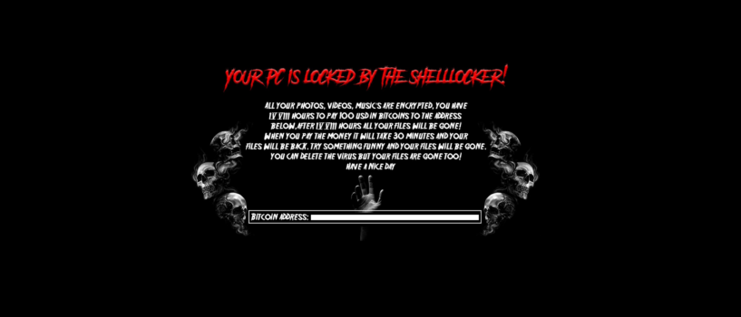 delete Shell Locker Ransomware
