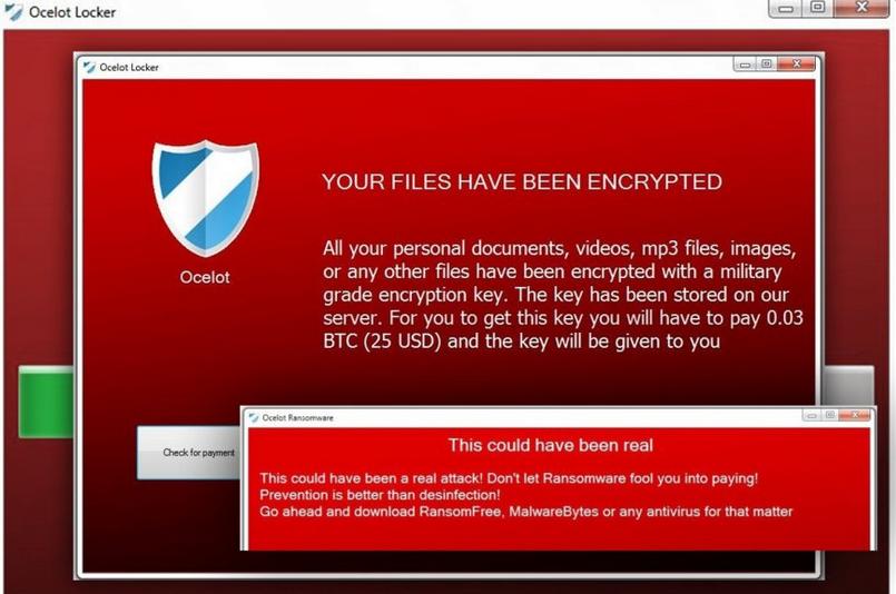 Ocelot Locker Ransomware