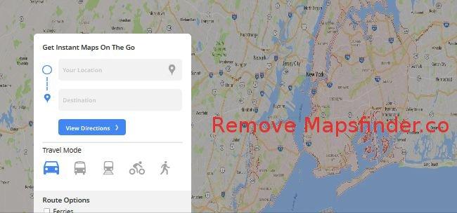Delete Mapsfinder.co