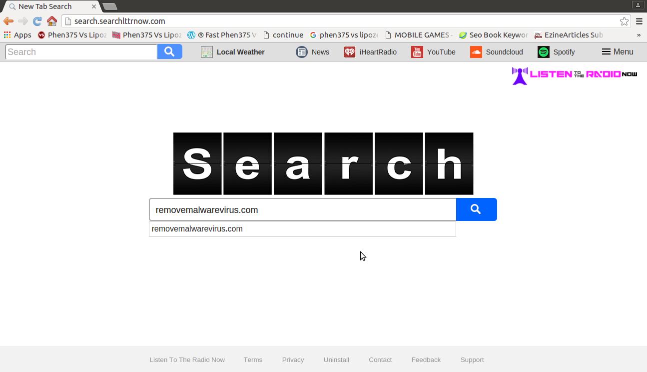 disinstallare Searchlttrnow.com