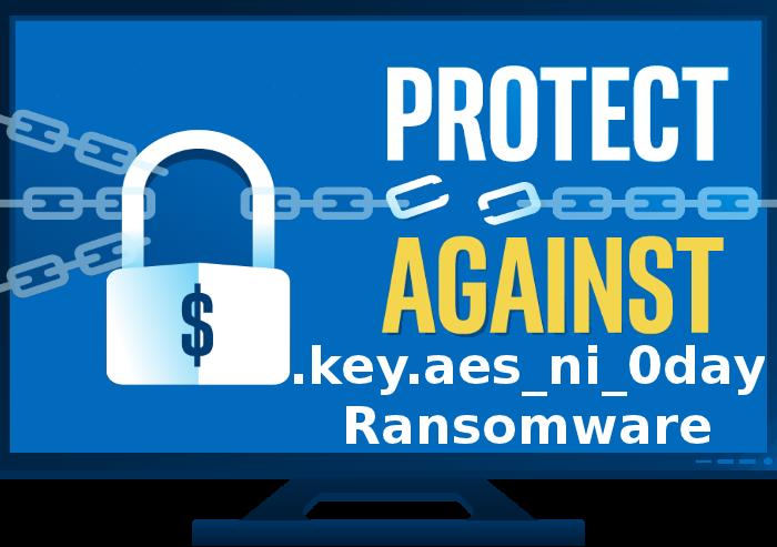 Eliminar .key.aes_ni_0day Ransomware