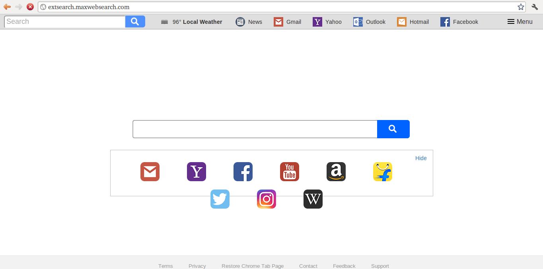 Delete Extsearch.maxwebsearch.com