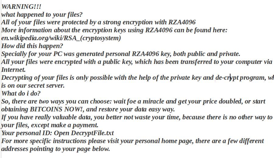 remove GOG Ransomware