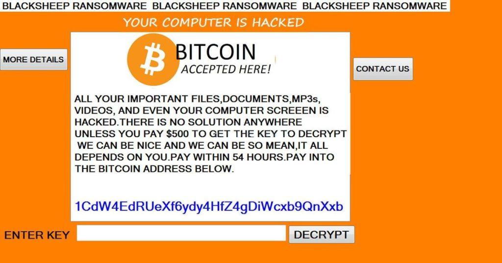 Entfernen BlackSheep Ransomware