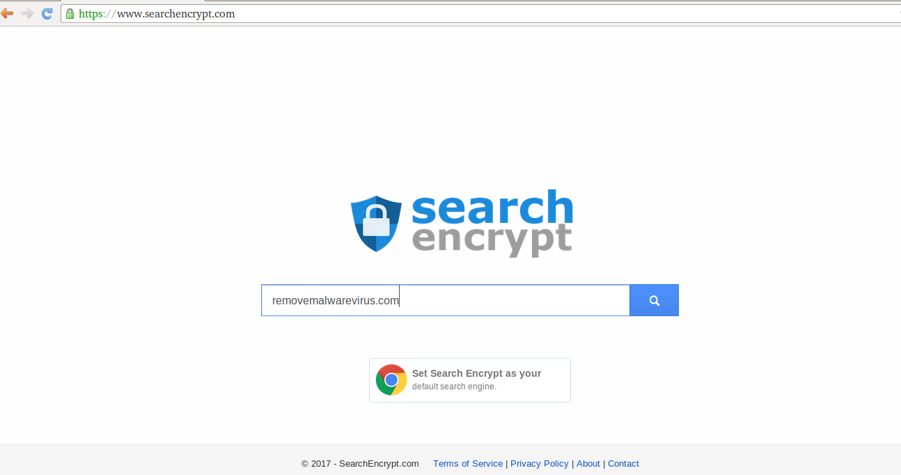Elimina Searchencrypt.navigateto.net