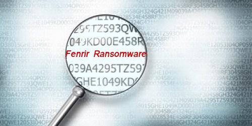 Eliminar Fenrir Ransomware