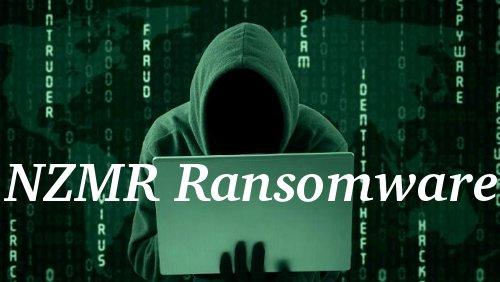 Delete NZMR Ransomware