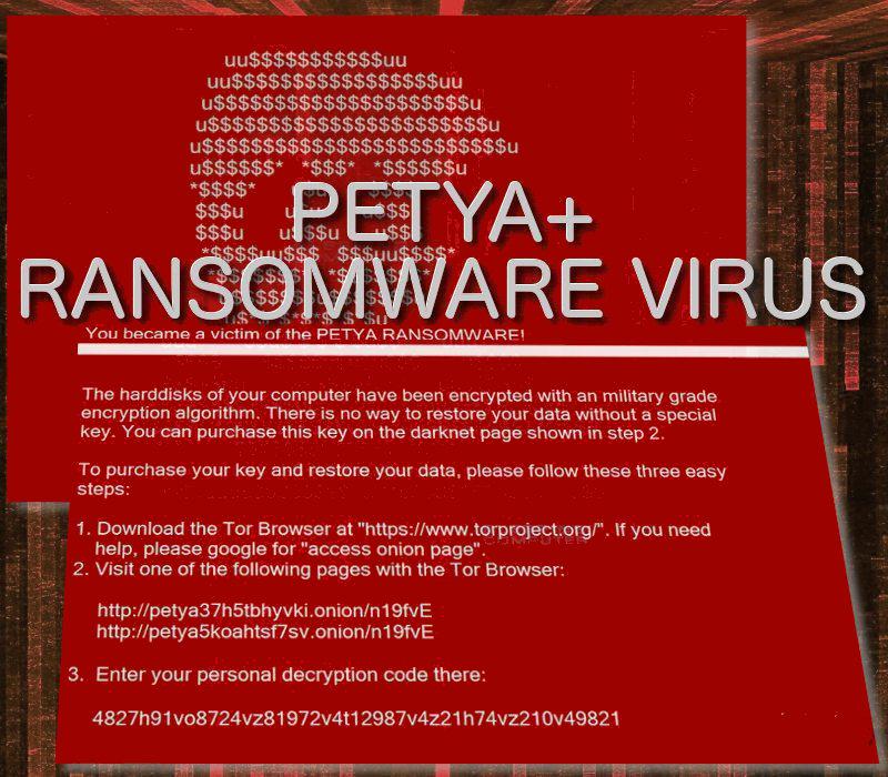 Entfernen Petya + Ransomware