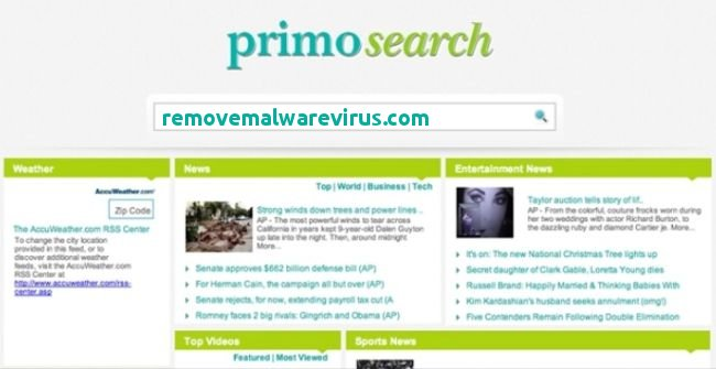 Delete primosearch.com