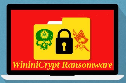 Delete WininiCrypt Ransomware