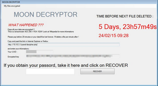 remove-MoonCryptor Ransomware