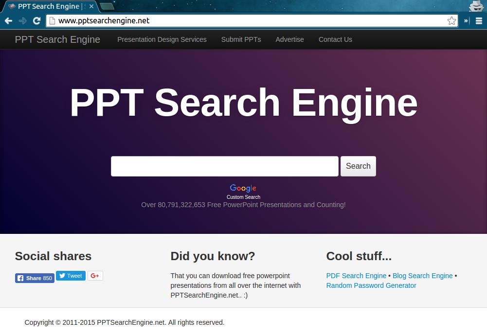 remove Pptsearchengine.net