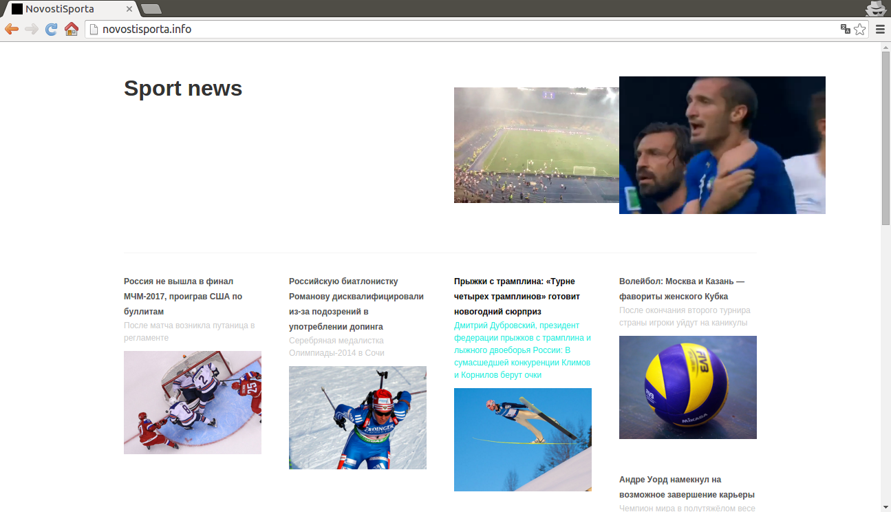Löschen Sie Novostisporta.info