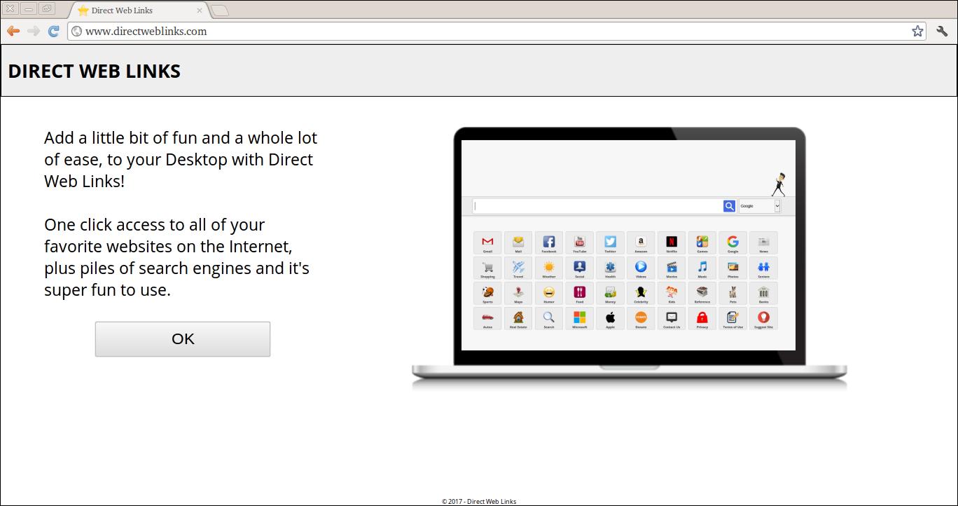 Delete Directweblinks.com