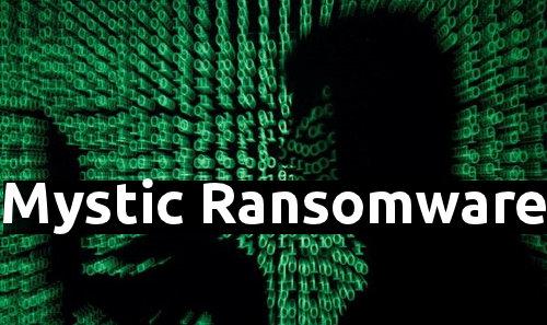 Löschen Mystic Ransomware