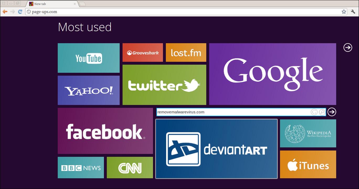 Delete Page-ups.com