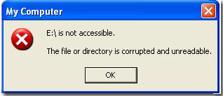 DriveIsNotAccesibleTheFileOrDirectoryIsCorrupted Sandisk Recovery Software for Sandisk 64GB, 32GB, 16GB & 8GB Memory Cards