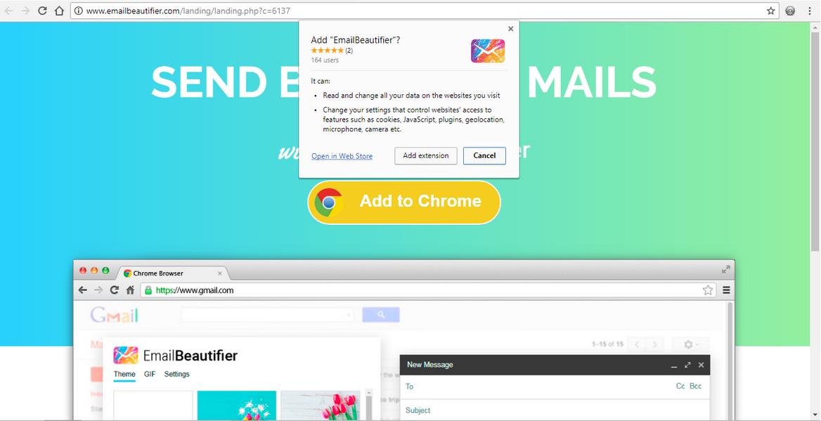 supprimer EmailBeautifier
