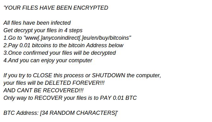 remove Exolock Ransomware