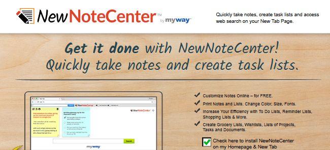 NewNoteCenter