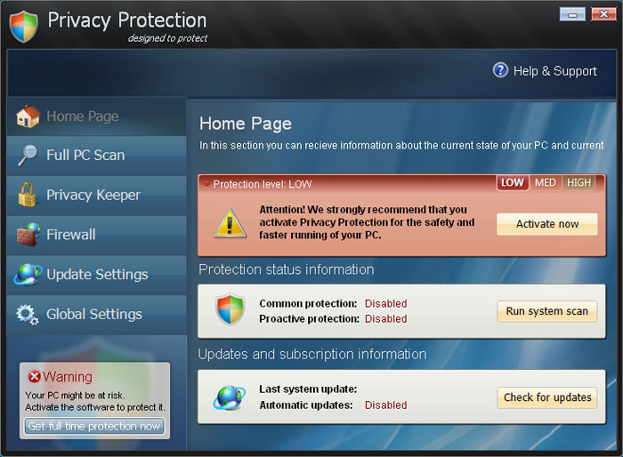 PrivacyProtection