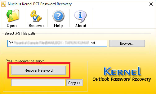 How to Recover Lost Pst Password