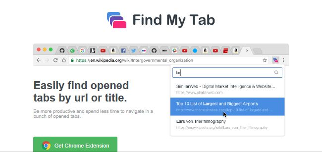 remove Find My Tab