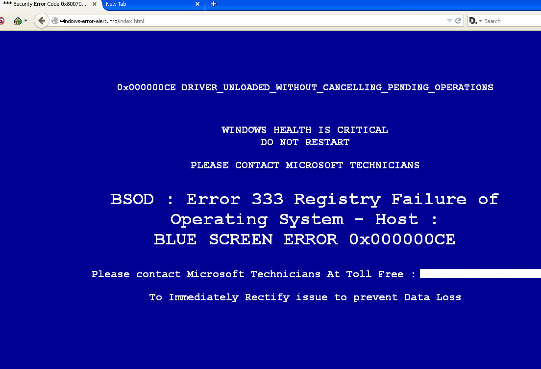 remove Microsoft Error # Dw6vb36