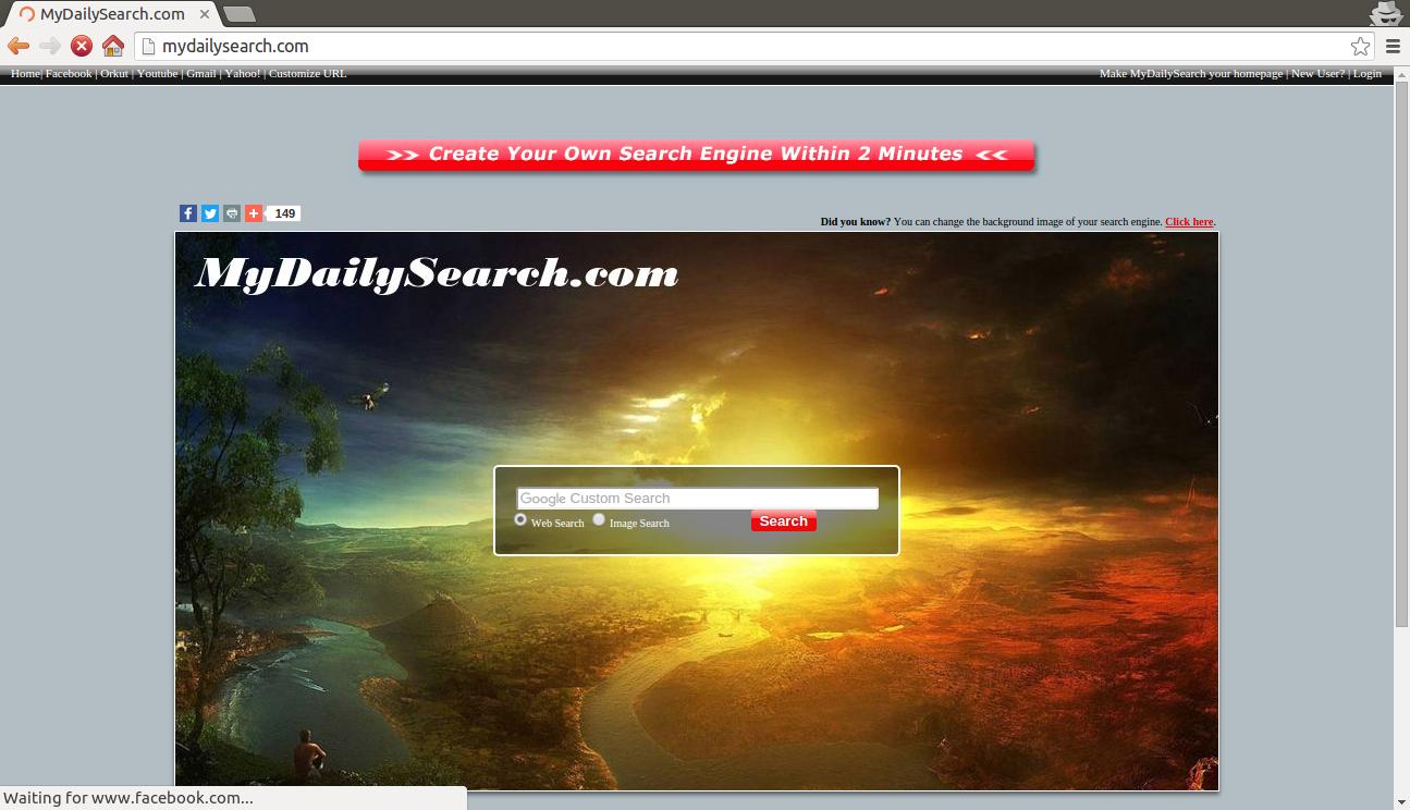 deinstallieren MyDailySearch.com