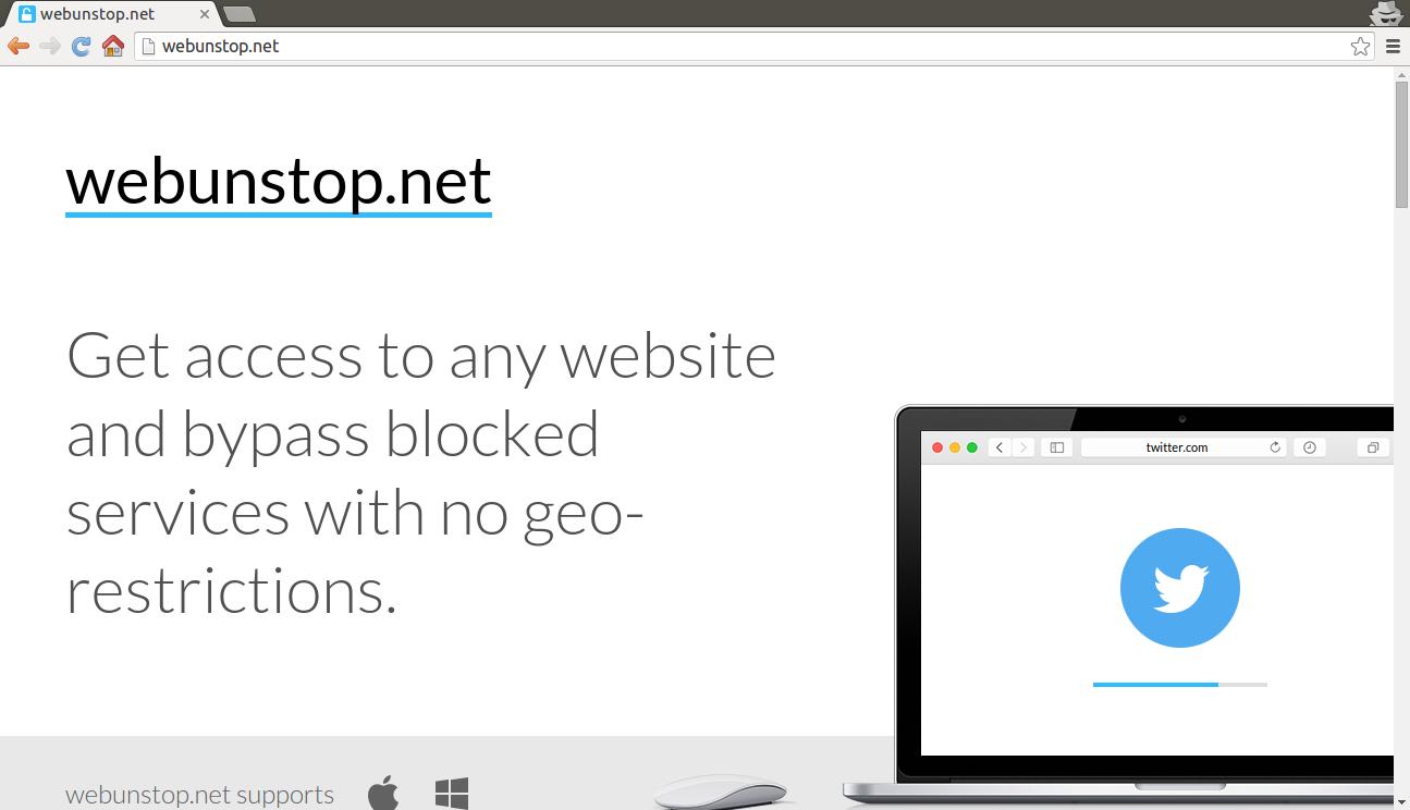 entfernen WebunStop.net