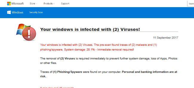 Retirez votre Windows infecté avec 2 virus! Pop-ups