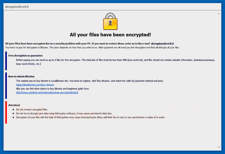 remove Wyvern Ransomware