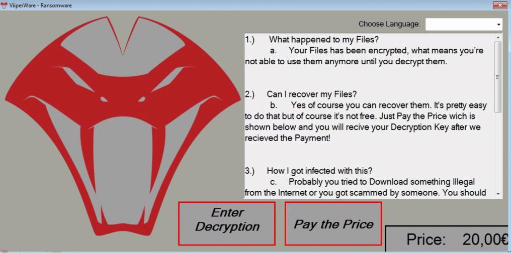 ViiperWaRe Ransomware