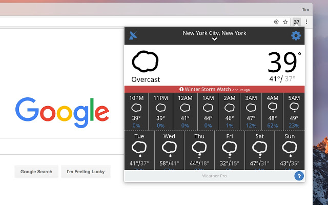 remove Check Weather Chrome Extension