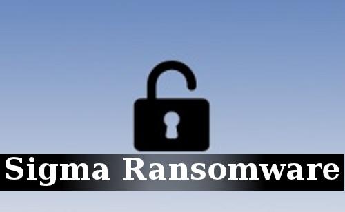 Delete Sigma Ransomware